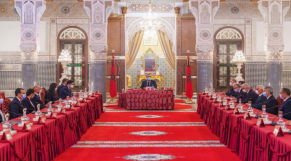 Roi Mohammed VI - Conseil des ministres - 17 octobre 2021