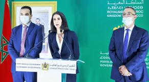 Conseil de gouvernement - Point de presse - PLF 2022 - Nadia Fettah Alaoui