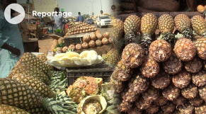 Vidéo. L'ananas en surabondance sur les marchés nigériens, alors que le pays n'en produit pas