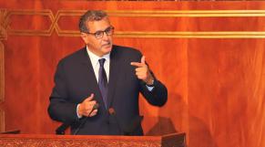Aziz Akhannouch - Parlement - vote de confiance