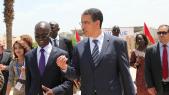 Logis med 2013 Aziz Rabbah, ministre de l'Equipement et du transport.