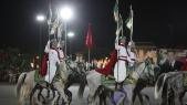 Parade Garde Royale le 29 juillet 2013 bd Zerktouni. av Hassan 2. place Mohammed V - 19