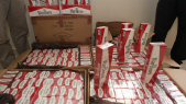 Cartons de cigarettes-saisie casablanca