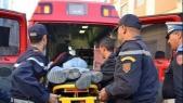 accident de la route urgence ambulance