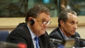 Pierre Antonio Panzeieri, eurodéputé italier et Abderrahim Atmoun