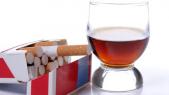 alcool et cigarette
