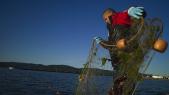 pêche maritime filet de pêche mer