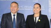 Moulay Hafid El Alami Min Industrie - Miriem Bensalah CGEM