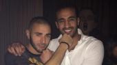 Badr Hari et Karim Benzema
