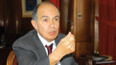 Fathallah Oualalou, maire de Rabat.