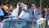 Mohammed VI - Cheikh Tamim Ben Hamad Al-Thani voiture