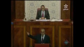 Benkirane sourire parlement 31 dec 2013