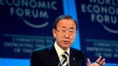 Ban Ki-Moon Davos