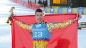 Adame Lamhamdi skieur marocain
