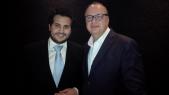 Omar Alaoui et Vincent perrault