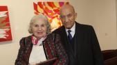 Meryem CHRAIBI et bensalem himich  Marsam Casablanca 6 Fevrier 2014 Mr et Mme abderahmane youssoufi usfp ex 1er ministre et homme politique
