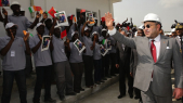 Roi Mohammed VI Abidjan - Cote d'ivoir inauguration d'usine Addoha