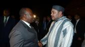 Roi mohammed VI - Gabon