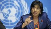 Navi Pillay, Haut commissaire de l'ONU aux droits de l'homme