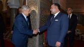 Roi Mohammed VI et Georges Soros