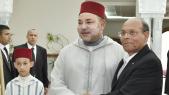 Mohammed VI et MOncef Marzouki