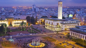 Casablanca - vue aérienne