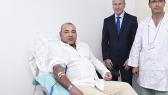 Mohammed VI don de sang 2014