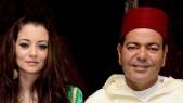 Moulay Rachid avec son épouse
