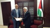 Salaheddine Mezouar et Mahmoud Abbas