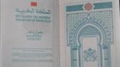 Passeport marocain.