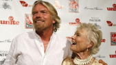 Eve et Richard Branson
