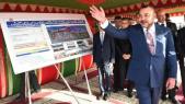 Roi Mohammed VI inauguration Corniche Dar Bouazza