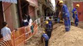 Installation d'un réseau d'eau potable à Casablanca