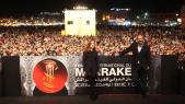 FIFM 12 Dec 2014 Isabelle Huppert Place Jamma el fna.tapis rouge.Prix cinécoles Essam Doukhou