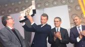 Gilles Favret Consul General de France et Loic Morin  PDG SOPRIAM  Voiture de l'Année