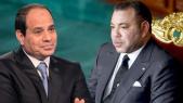 Roi Mohammed VI et président Abdelfettah Sissi