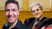 Moulay Hicham et Zakaria Moumni