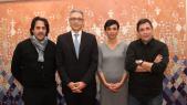 Réda Bouamrani designers.Mohamed Hassan Bensalah PDG du Groupe Holmarcom.Myriam Mourabit designers.Hicham EL Madi Designers.