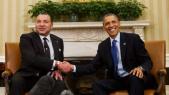 Roi Mohammed VI et président US Barack Obama.