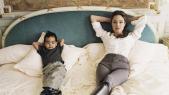 Angelina Jolie et son fils Maddox