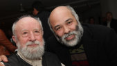 Michel Butor et Mohamed Mourabiti