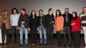 Mohamed KARRAT Realisateur et l'équipe du  Film UN PARI PIMENTÉ-1