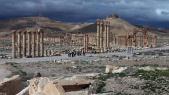 Vue de Palmyre, le 14 mars 2014.