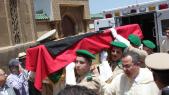 obseques général bennani Rabat 21 mai 2015