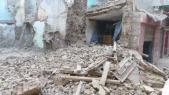 Habitations menaçant ruine