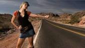 femmes autostop