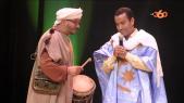 Cover Vidéo... Hdidan et l'egiptien samih Houssein au Festival du rire (Dakhla)