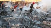 Incendie-Sidi Moumen1