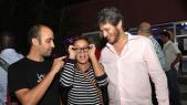Hicham,fondateur du festival L'Boulevard.Maria Daif et Mehdi Alaoui Mdaghri