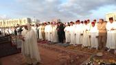 priere de l aid al adha mosquée hassan ll